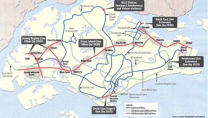 a report on the disadvantages of the proposed cross island line in singapore The crl was first proposed in 2013, a 50km long line that the eia report.